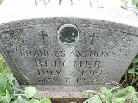 BELCHER, FRANCES - Franklin County, Ohio | FRANCES BELCHER - Ohio Gravestone Photos