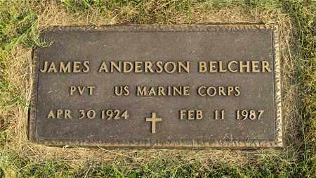 BELCHER, JAMES ANDERSON - Franklin County, Ohio   JAMES ANDERSON BELCHER - Ohio Gravestone Photos