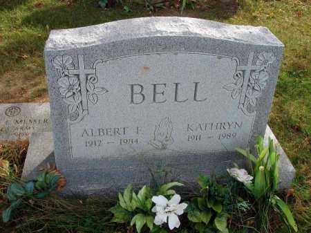 BELL, ALBERT F. - Franklin County, Ohio | ALBERT F. BELL - Ohio Gravestone Photos