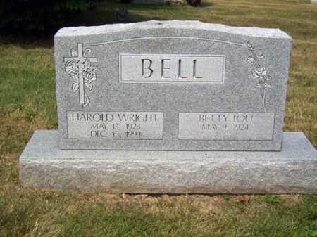 BELL, HAROLD WRIGHT - Franklin County, Ohio   HAROLD WRIGHT BELL - Ohio Gravestone Photos