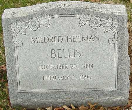 HEILMAN BELLIS, MILDRED - Franklin County, Ohio   MILDRED HEILMAN BELLIS - Ohio Gravestone Photos