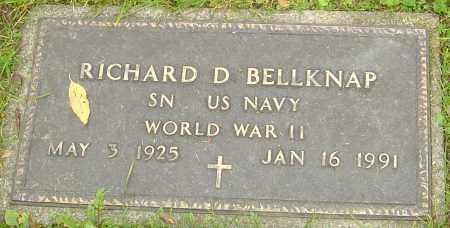 BELLKNAP, RICHARD - Franklin County, Ohio | RICHARD BELLKNAP - Ohio Gravestone Photos