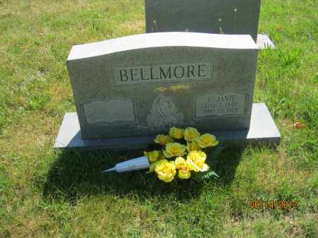 BELLMORE, VESTA JANIE - Franklin County, Ohio | VESTA JANIE BELLMORE - Ohio Gravestone Photos
