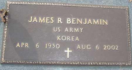 BENJAMIN, JAMES R - Franklin County, Ohio   JAMES R BENJAMIN - Ohio Gravestone Photos