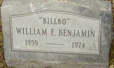 BENJAMIN, WILLIAM E - Franklin County, Ohio | WILLIAM E BENJAMIN - Ohio Gravestone Photos
