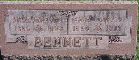 CONWAY BENNETT, MARY ESTELLE - Franklin County, Ohio | MARY ESTELLE CONWAY BENNETT - Ohio Gravestone Photos