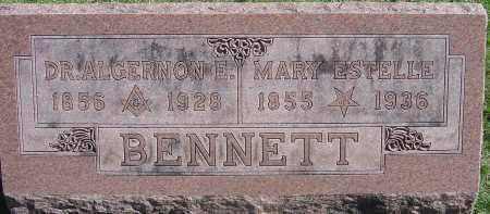 BENNETT, MARY ESTELLE - Franklin County, Ohio | MARY ESTELLE BENNETT - Ohio Gravestone Photos