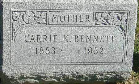 BENNETT, CARRIE LOUISE - Franklin County, Ohio | CARRIE LOUISE BENNETT - Ohio Gravestone Photos