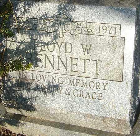 BENNETT, FLOYD W - Franklin County, Ohio | FLOYD W BENNETT - Ohio Gravestone Photos
