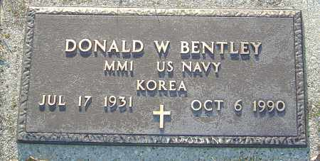 BENTLEY, DONALD W - Franklin County, Ohio | DONALD W BENTLEY - Ohio Gravestone Photos
