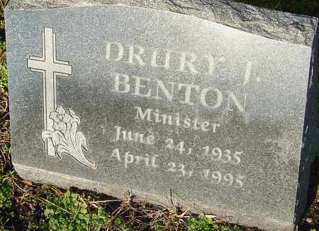 BENTON, DRURY J - Franklin County, Ohio | DRURY J BENTON - Ohio Gravestone Photos