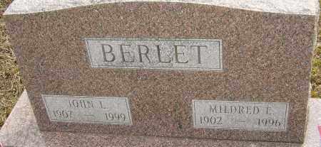 BERLET, MILDRED E - Franklin County, Ohio   MILDRED E BERLET - Ohio Gravestone Photos