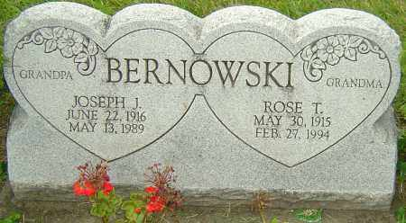 BERNOWSKI, ROSE T - Franklin County, Ohio | ROSE T BERNOWSKI - Ohio Gravestone Photos