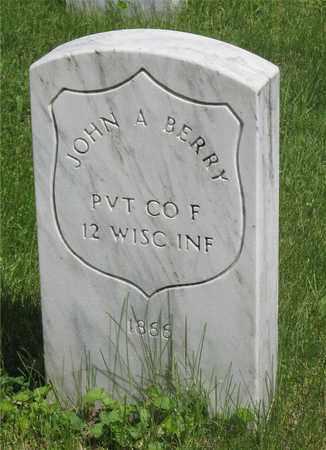 BERRY, JOHN A. - Franklin County, Ohio | JOHN A. BERRY - Ohio Gravestone Photos