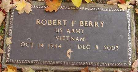 BERRY, ROBERT FREDERICK - Franklin County, Ohio | ROBERT FREDERICK BERRY - Ohio Gravestone Photos