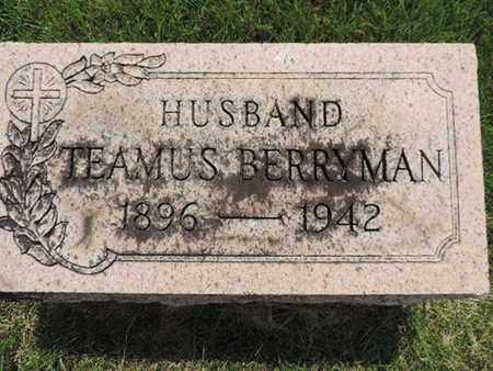BERRYMAN, TEAMUS - Franklin County, Ohio | TEAMUS BERRYMAN - Ohio Gravestone Photos