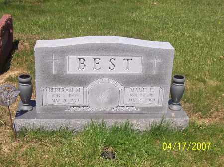 BEST, BERTRAM M - Franklin County, Ohio | BERTRAM M BEST - Ohio Gravestone Photos