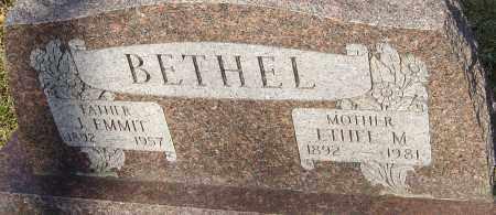 BETHEL, ETHEL M - Franklin County, Ohio | ETHEL M BETHEL - Ohio Gravestone Photos