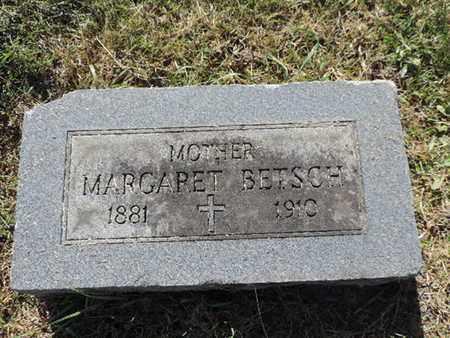 BETSCH, MARGARET - Franklin County, Ohio | MARGARET BETSCH - Ohio Gravestone Photos