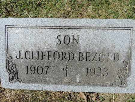 BEZOLD, J. CLIFFORD - Franklin County, Ohio | J. CLIFFORD BEZOLD - Ohio Gravestone Photos