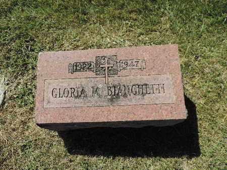 BIANCHETTI, GLORIA M. - Franklin County, Ohio | GLORIA M. BIANCHETTI - Ohio Gravestone Photos