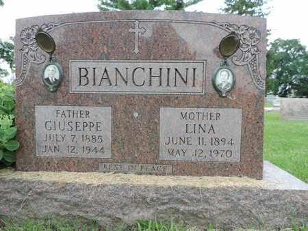 BIANCHINI, LINA - Franklin County, Ohio   LINA BIANCHINI - Ohio Gravestone Photos