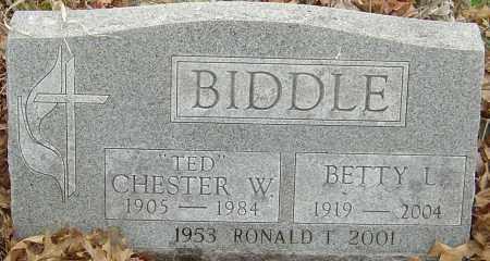 BIDDLE, BETTY L - Franklin County, Ohio | BETTY L BIDDLE - Ohio Gravestone Photos