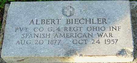 BIECHLER, ALBERT - Franklin County, Ohio | ALBERT BIECHLER - Ohio Gravestone Photos