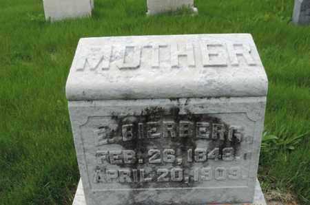 BIERBERG, E. - Franklin County, Ohio | E. BIERBERG - Ohio Gravestone Photos