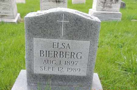 BIERBERG, ELSA - Franklin County, Ohio | ELSA BIERBERG - Ohio Gravestone Photos