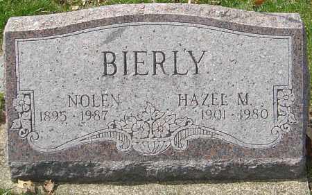 BIERLY, HAZEL M - Franklin County, Ohio | HAZEL M BIERLY - Ohio Gravestone Photos
