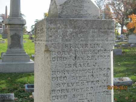 BIGELOW, ISRAEL J - Franklin County, Ohio | ISRAEL J BIGELOW - Ohio Gravestone Photos