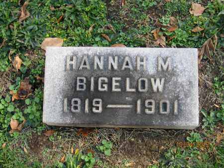 MARSHALL BIGELOW, HANNAH - Franklin County, Ohio | HANNAH MARSHALL BIGELOW - Ohio Gravestone Photos