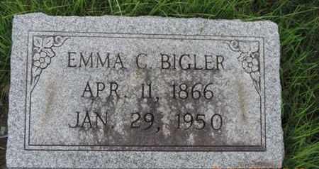 BIGLER, EMMA C - Franklin County, Ohio   EMMA C BIGLER - Ohio Gravestone Photos