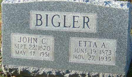 BIGLER, ROSETTA A - Franklin County, Ohio | ROSETTA A BIGLER - Ohio Gravestone Photos