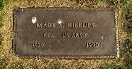 BILLUPS, MARY C. - Franklin County, Ohio | MARY C. BILLUPS - Ohio Gravestone Photos
