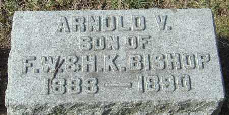 BISHOP, ARNOLD V - Franklin County, Ohio | ARNOLD V BISHOP - Ohio Gravestone Photos