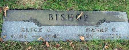 BISHOP, ALICE J. - Franklin County, Ohio | ALICE J. BISHOP - Ohio Gravestone Photos