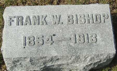 BISHOP, FRANK W - Franklin County, Ohio   FRANK W BISHOP - Ohio Gravestone Photos