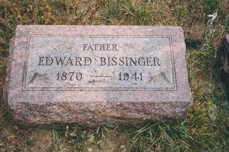 BISSINGER, EDWARD - Franklin County, Ohio | EDWARD BISSINGER - Ohio Gravestone Photos