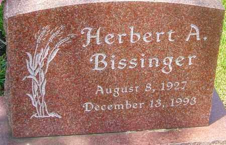 BISSINGER, HERBERT A - Franklin County, Ohio | HERBERT A BISSINGER - Ohio Gravestone Photos