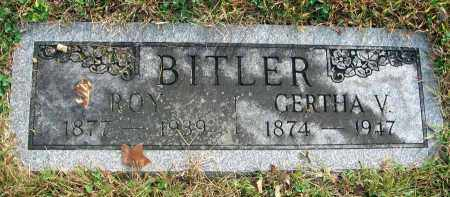 BITLER, GERTHA V. - Franklin County, Ohio | GERTHA V. BITLER - Ohio Gravestone Photos