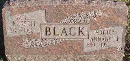 BLACK, RUSSELL - Franklin County, Ohio | RUSSELL BLACK - Ohio Gravestone Photos