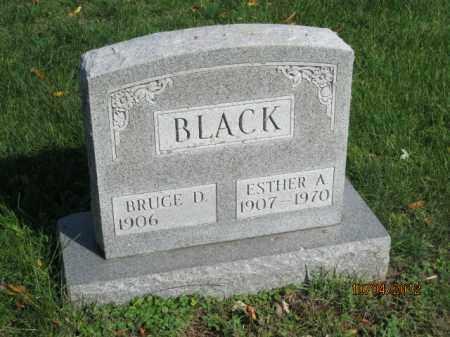 WEAVER BLACK, ESTHER AGNES - Franklin County, Ohio | ESTHER AGNES WEAVER BLACK - Ohio Gravestone Photos