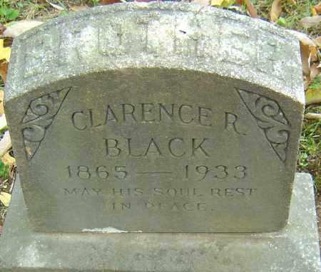 BLACK, CLARENCE R - Franklin County, Ohio   CLARENCE R BLACK - Ohio Gravestone Photos