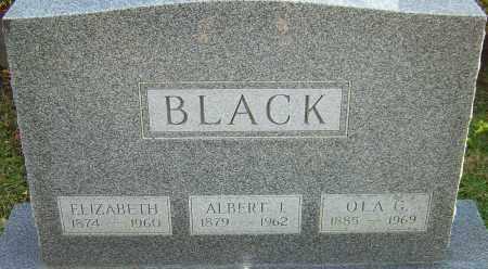BLACK, ELIZABETH - Franklin County, Ohio | ELIZABETH BLACK - Ohio Gravestone Photos