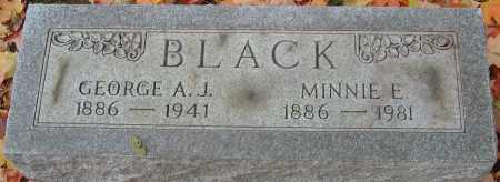 BLACK, GEORGE A J - Franklin County, Ohio | GEORGE A J BLACK - Ohio Gravestone Photos