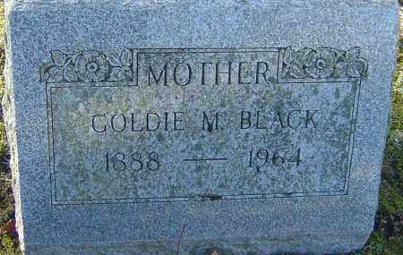 BLACK, GOLDIE M - Franklin County, Ohio | GOLDIE M BLACK - Ohio Gravestone Photos
