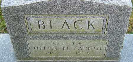 BLACK, HELEN - Franklin County, Ohio | HELEN BLACK - Ohio Gravestone Photos