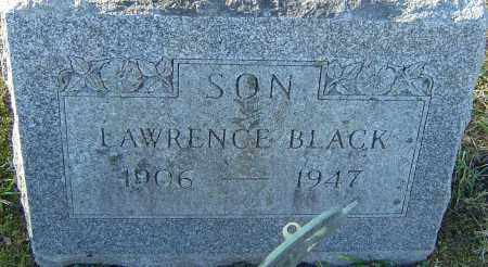 BLACK, LAWRENCE - Franklin County, Ohio | LAWRENCE BLACK - Ohio Gravestone Photos